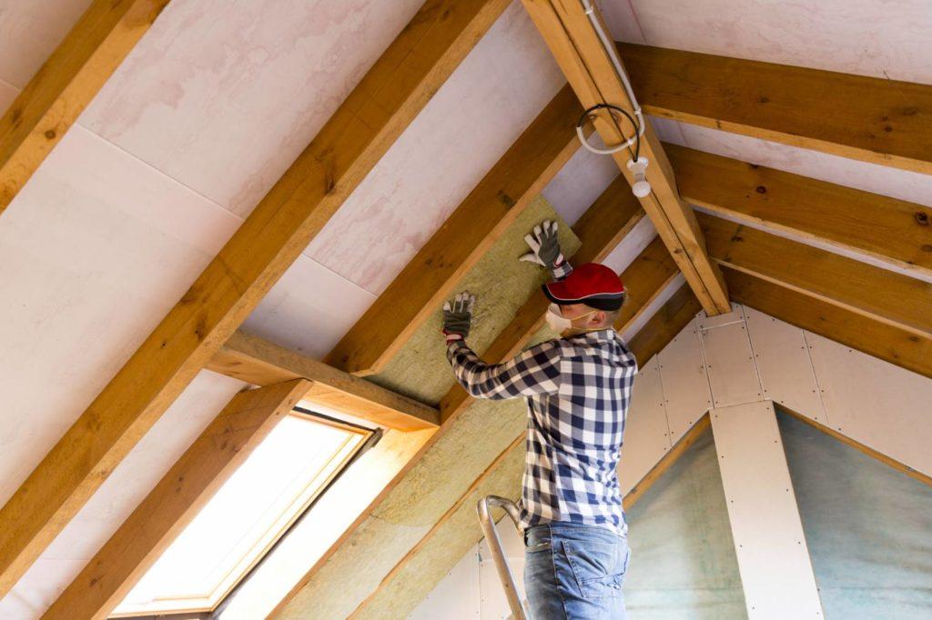 isolation du toit et des combles